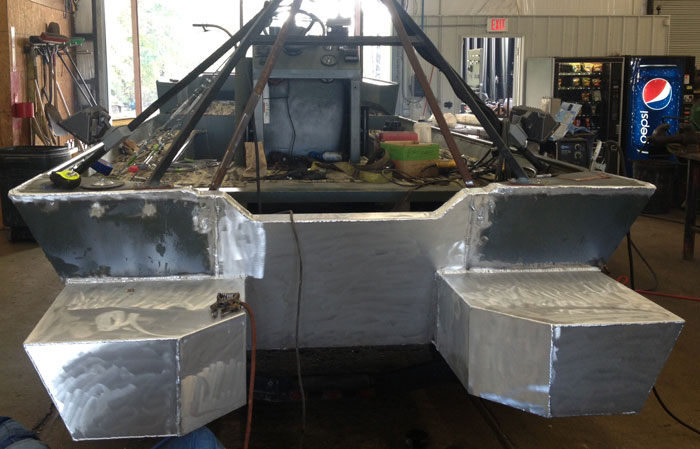 Zodiac Boats Wiki How To Build A Aluminum Boat Welded